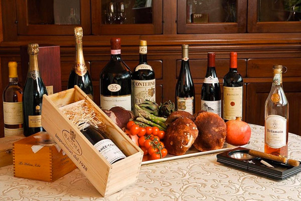 Menù Wines