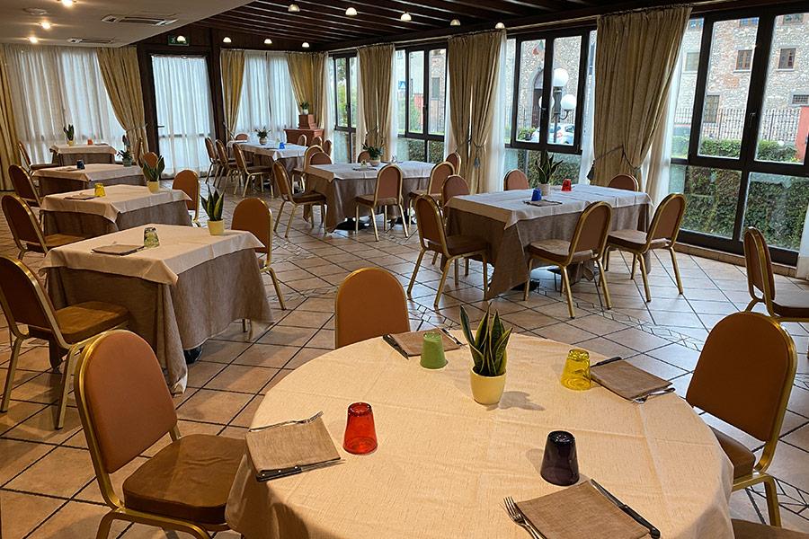 Sale interne ristorante Leone d'Oro