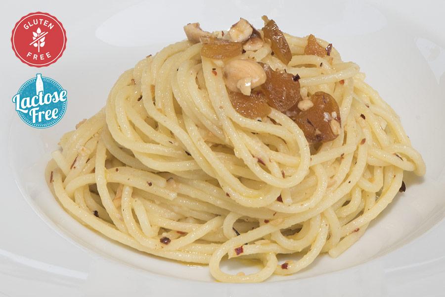 Spaghetti bottarga senza glutine leone d'oro